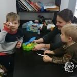 wycinanka z dzieckiem